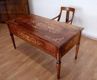 Bureau et chaise italiens Louis XV, 1920